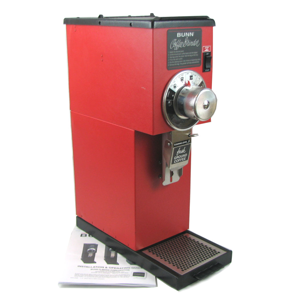 BUNN G1 HD Red Commercial Bulk Coffee Grinder, 1 Pound Capacity, 120V eBay
