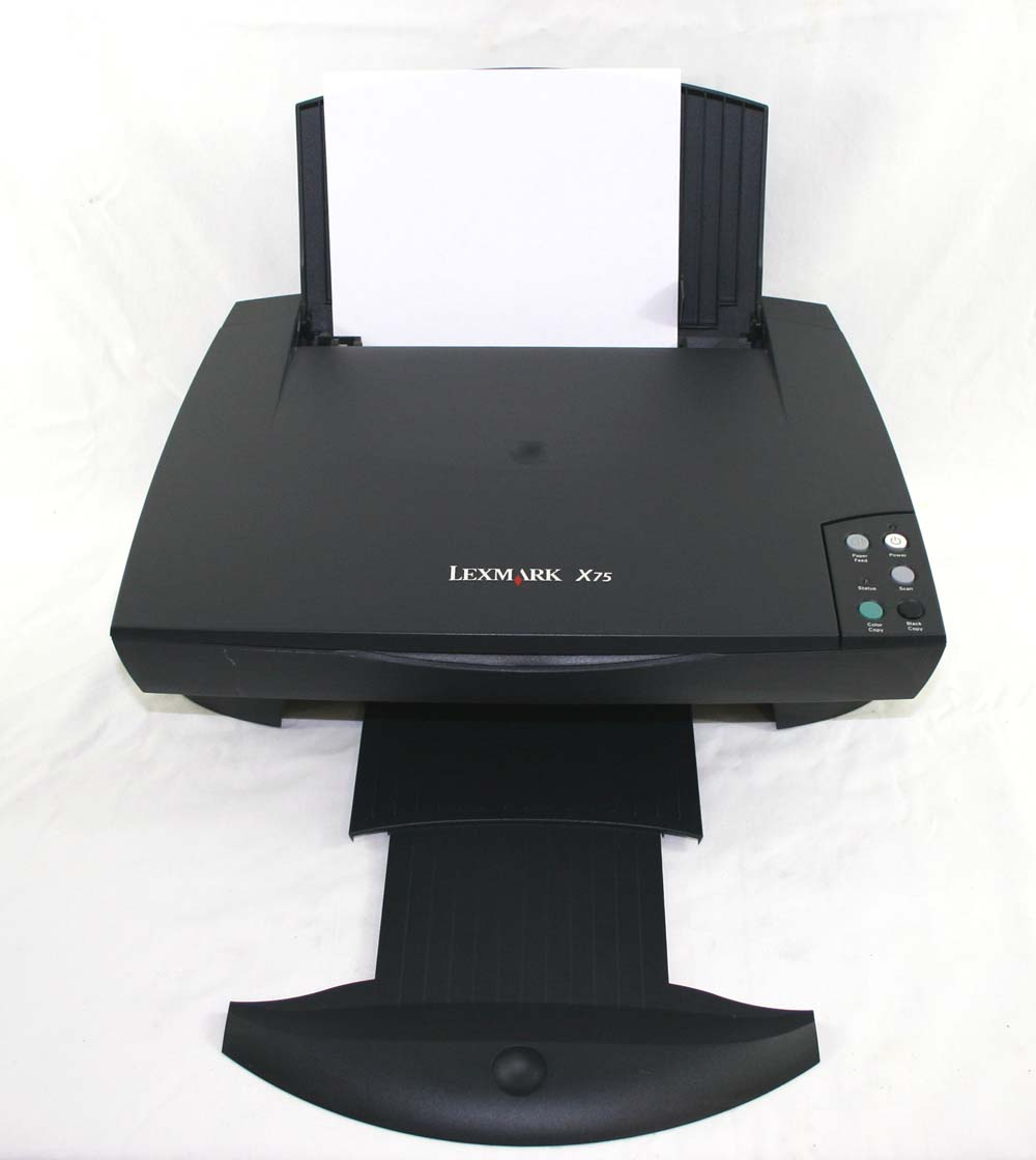 Driver for lexmark x75.